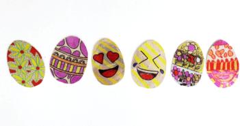 Tin Foil Sharpie Easter Egg Craft