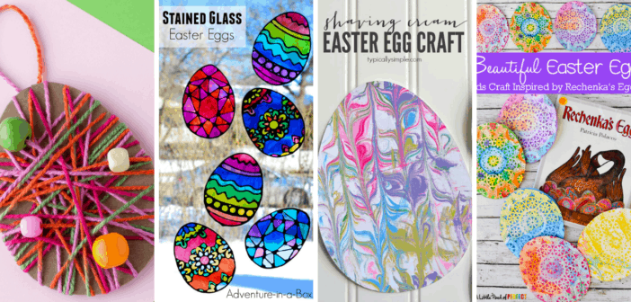10 Fun Easter Egg Kids Crafts