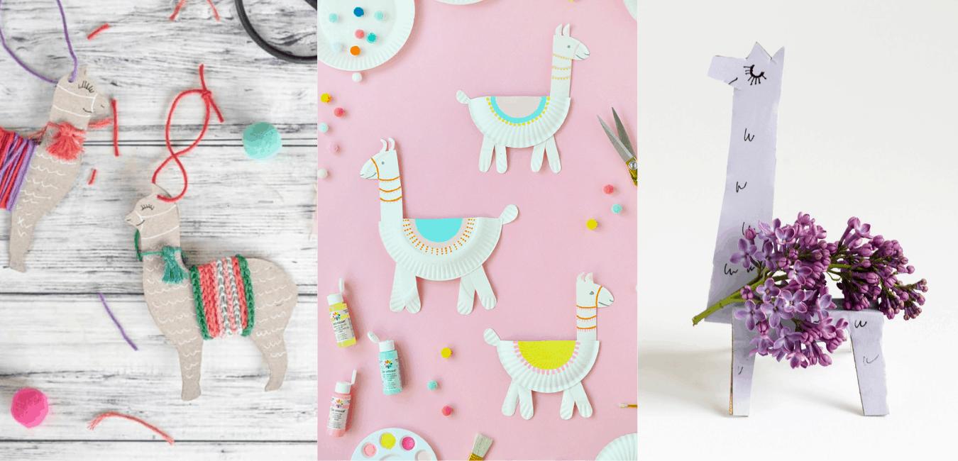 llama crafts