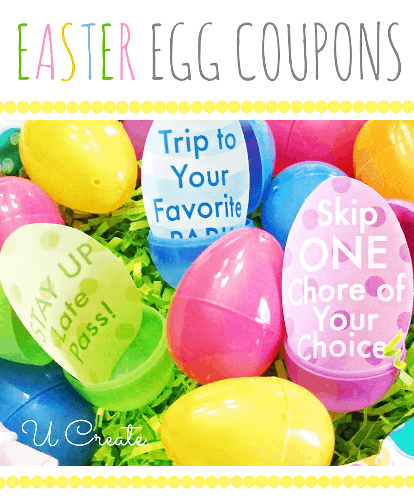 easter egg coupons