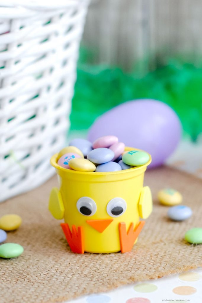 chick cup craft