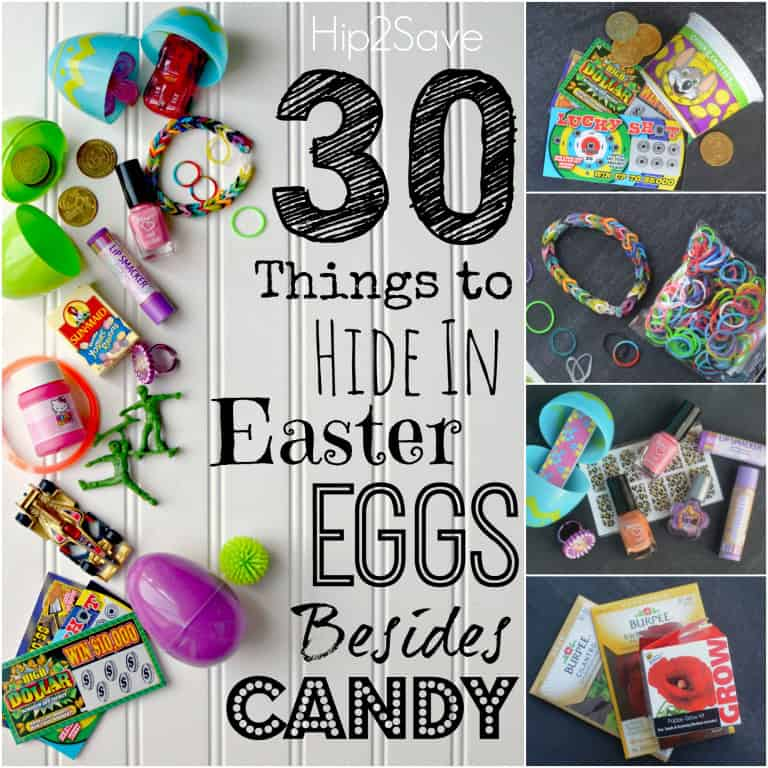 non-candy items to hide in eggs
