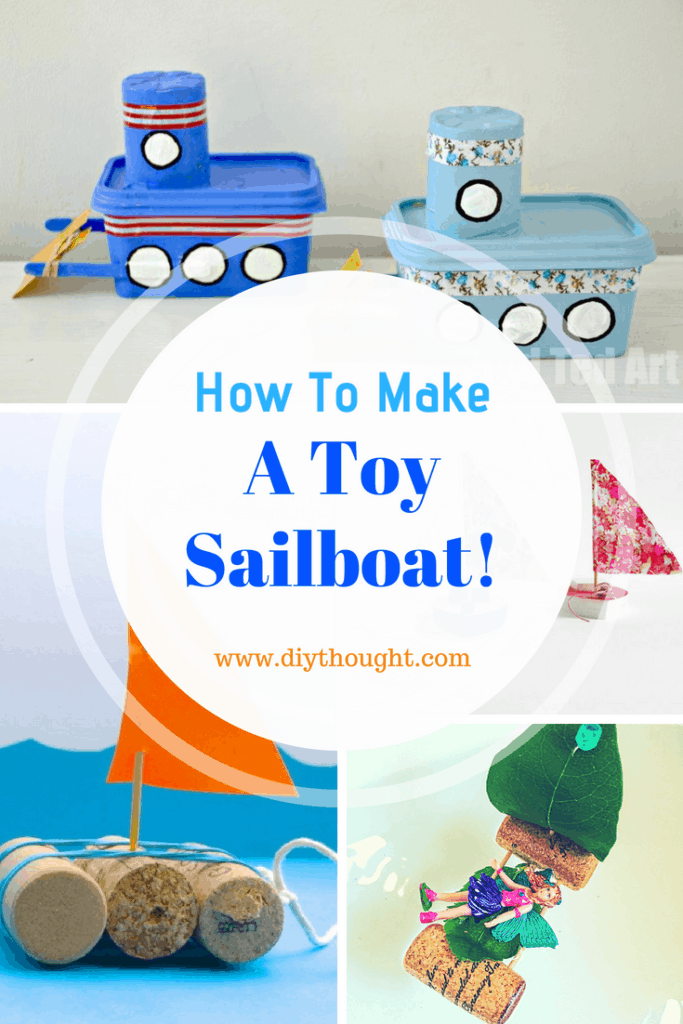DIY toy sail boat