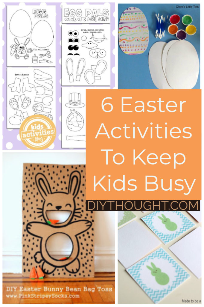 easter activities to keep kids busy