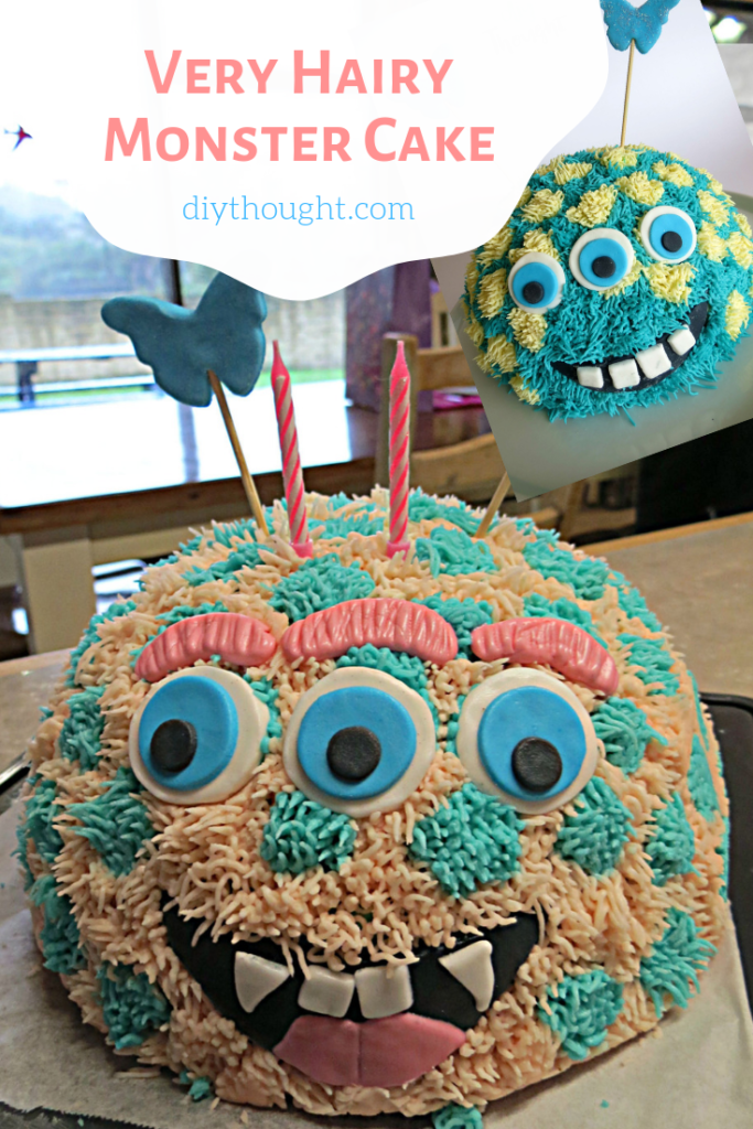 how to make a monster cake