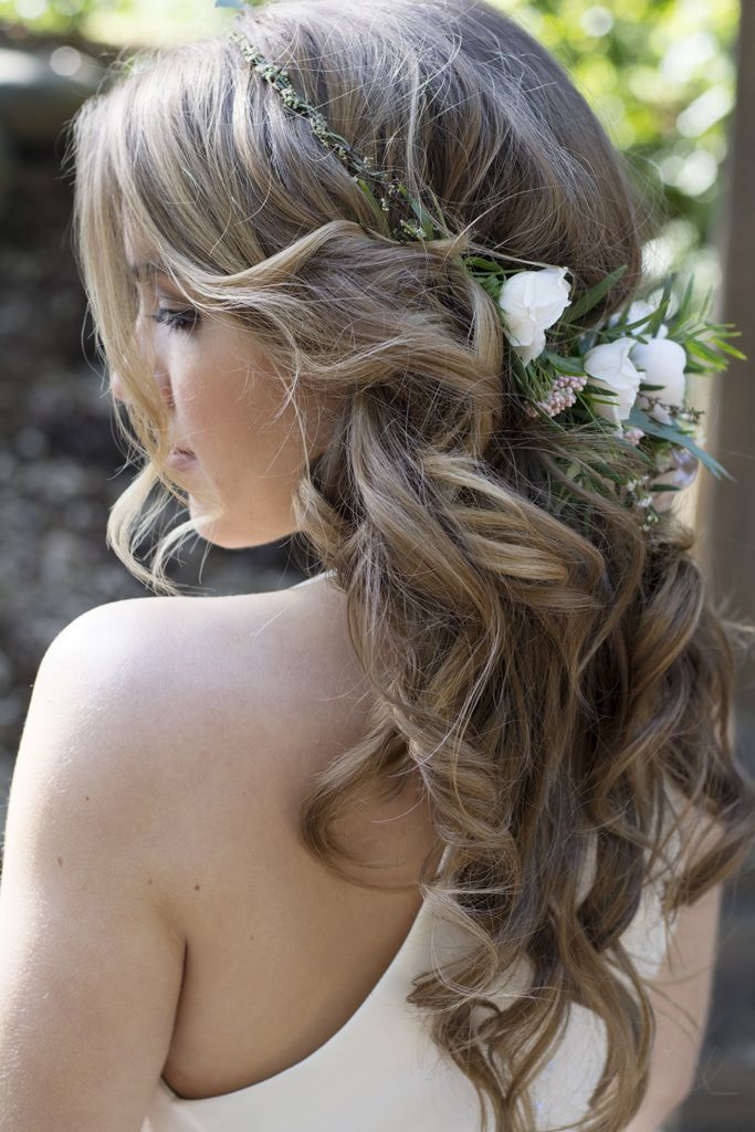 country wedding hair