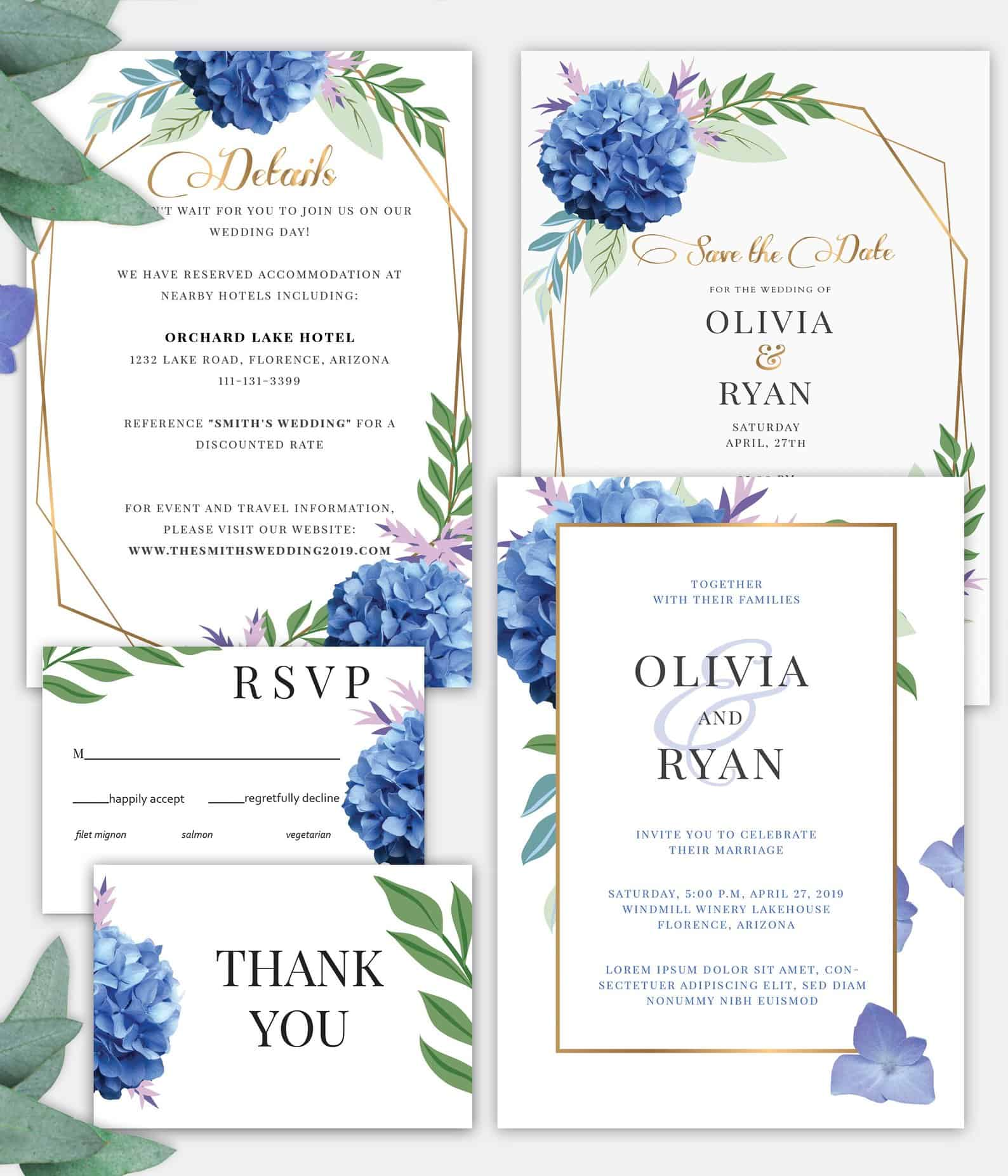 rustic country wedding invites