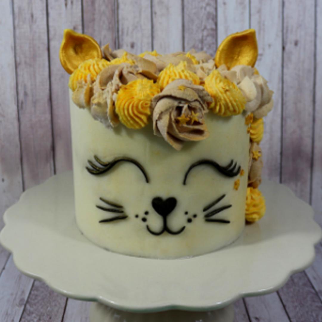cat face cake