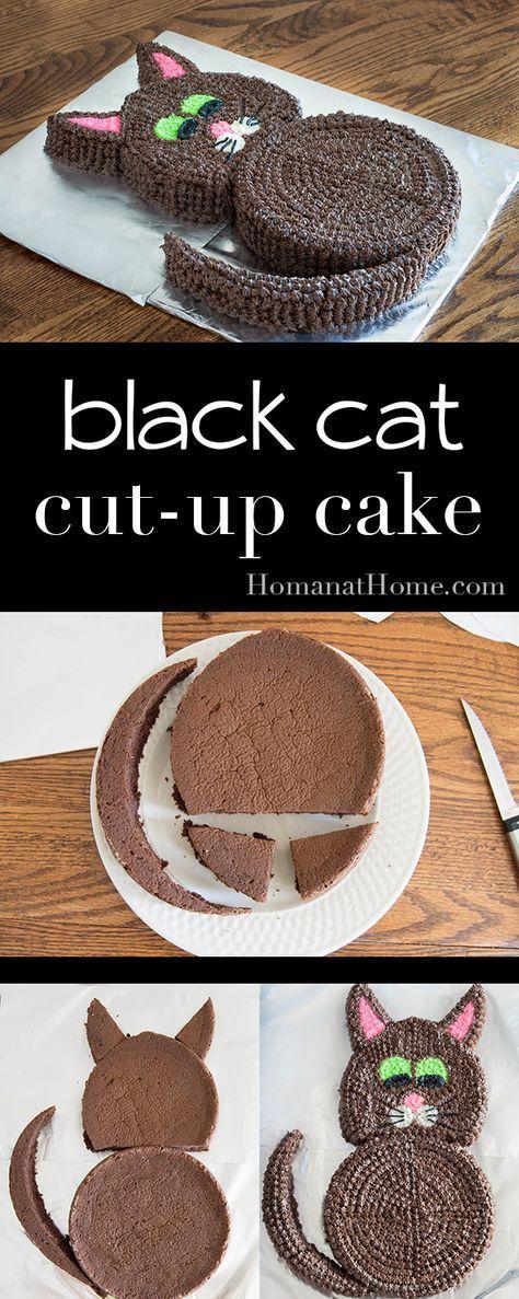 cut-up cat cake