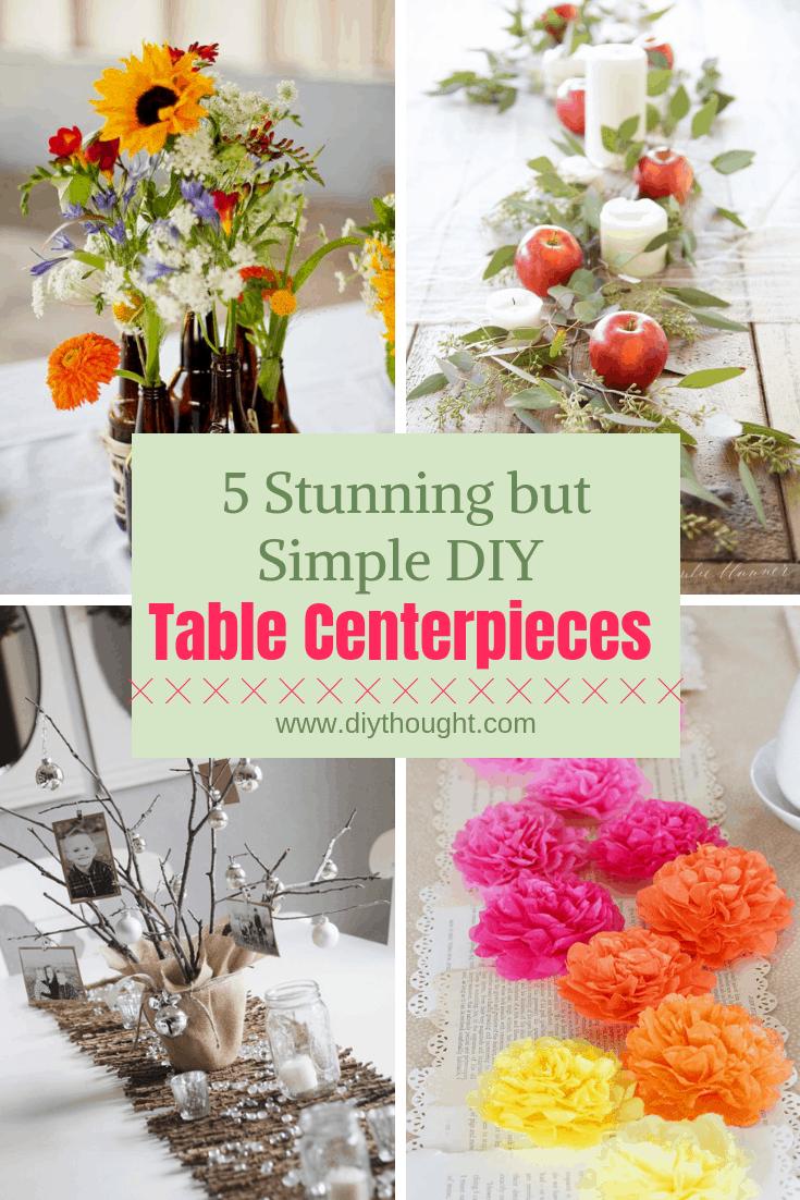 table centerpieces DIY