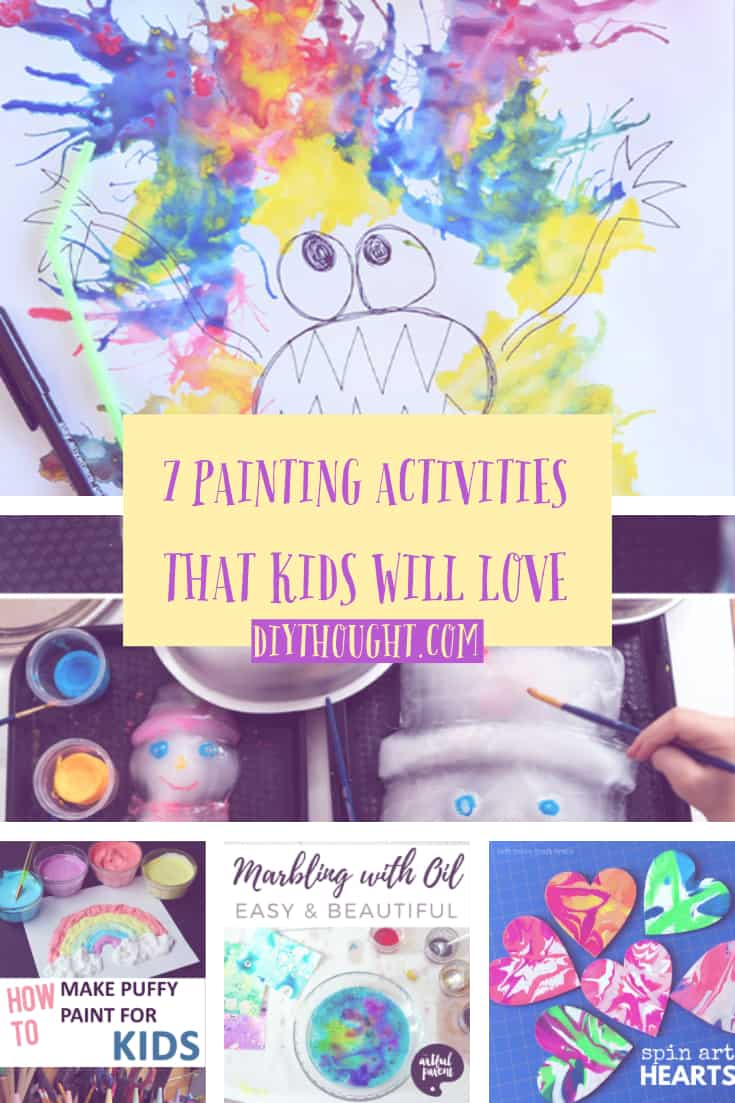 painting activities kids will love