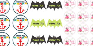 party favor tags
