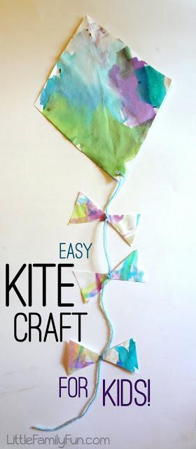 easy kite craft