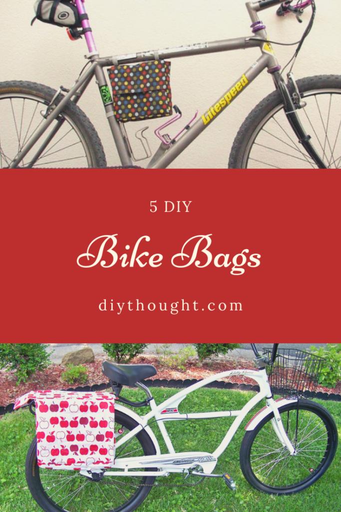 DIY bike bags