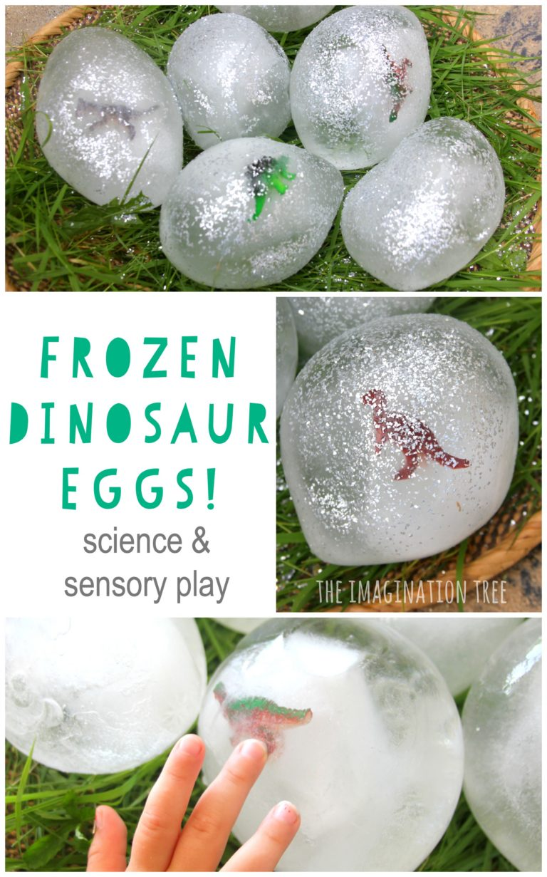 Ice Dinosaur Eggs