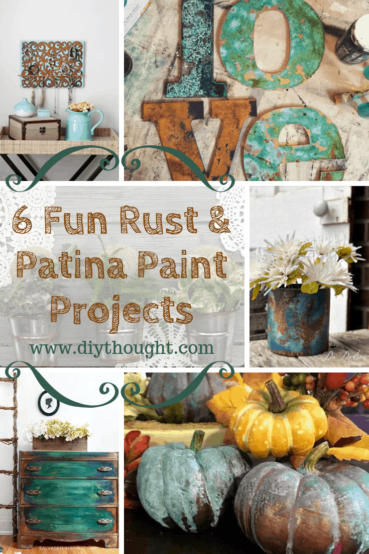 Rust Patina Paint Projects