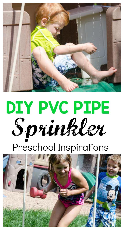 PVC Pipe Water Sprinkler DIY