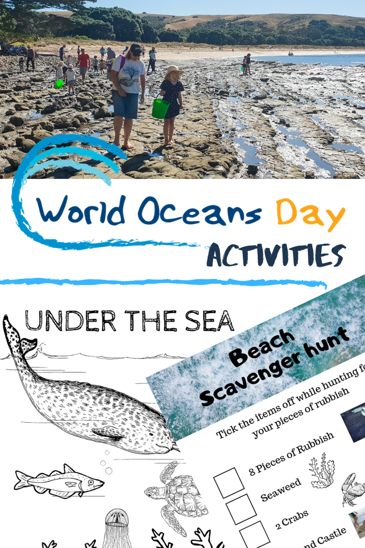 World Oceans Day Activities