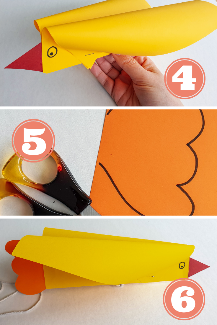 How to make a super easy bird kite