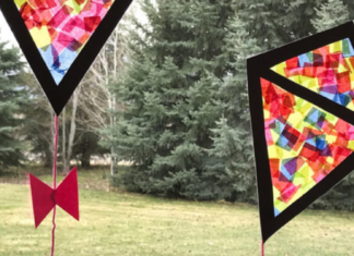 fun kids kite crafts