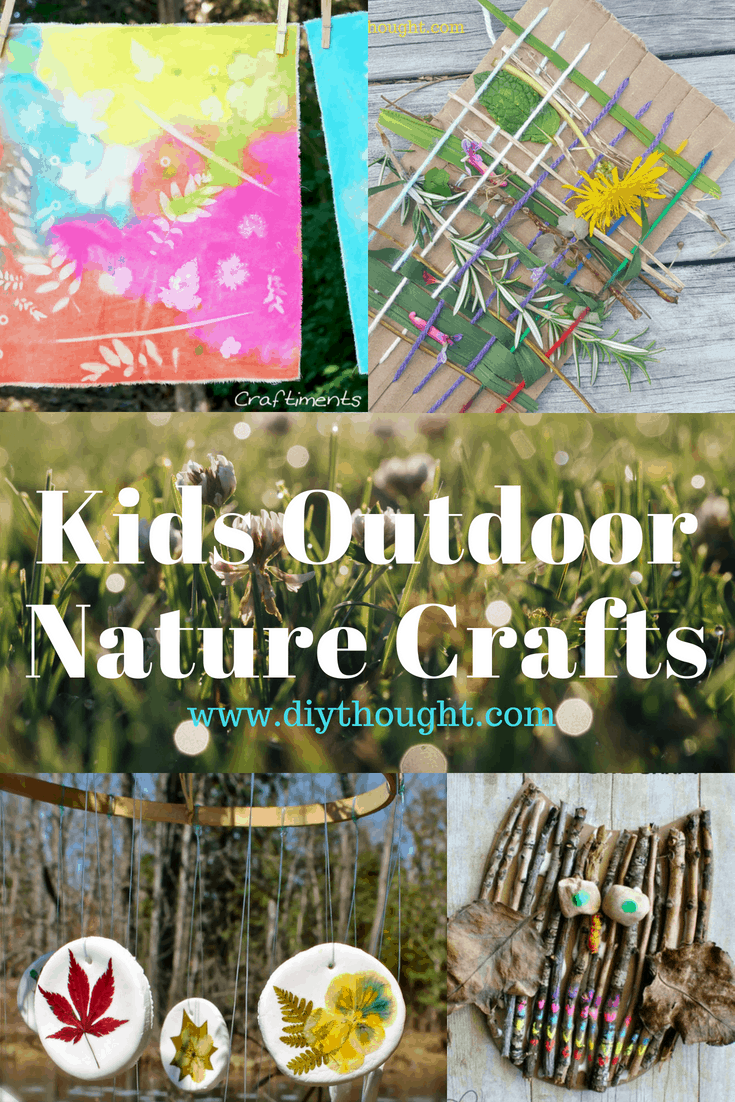 outdoor nature crafts