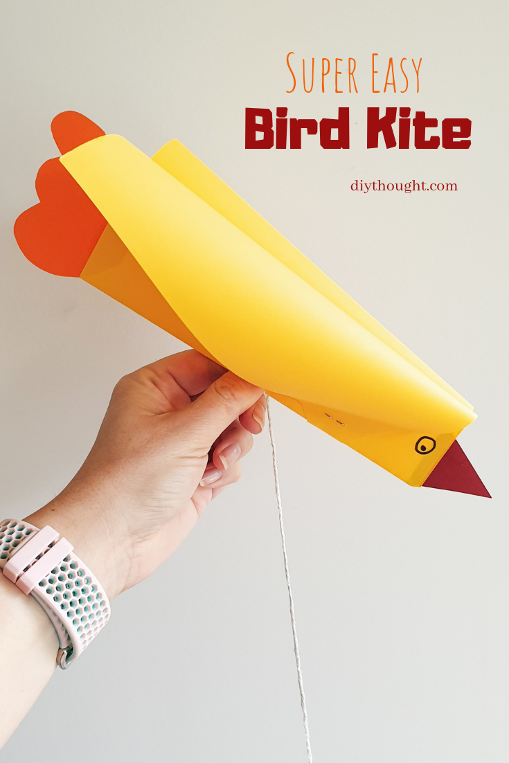 super easy bird kite