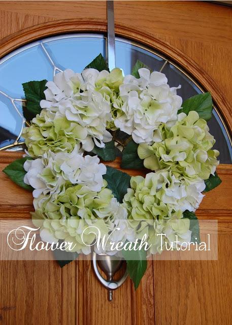 floral wreath tutorial