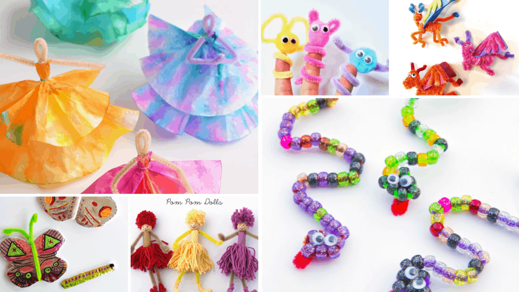 12 fun pipe cleaner crafts