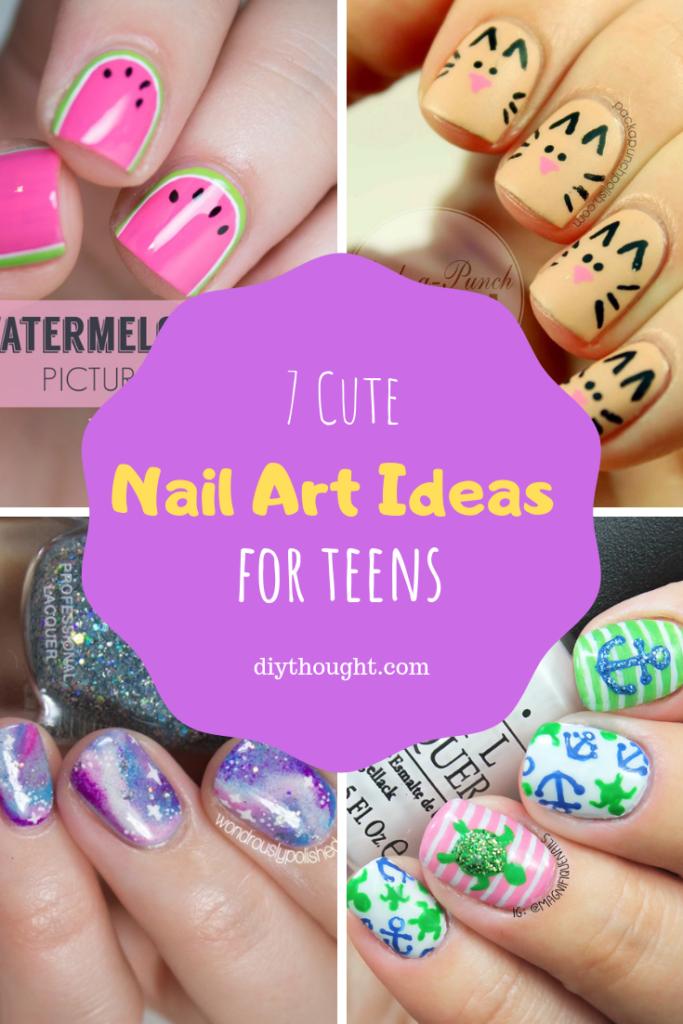 7 cute nail art ideas for teens