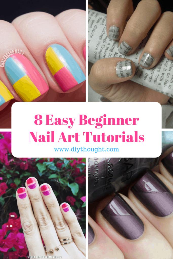 beginner nail art tutorials