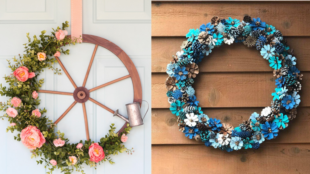 floral wreath inspiration
