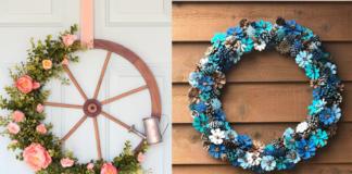 floral wreath inspiration