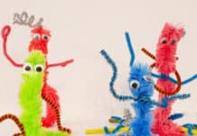 pipe cleaner monster craftr