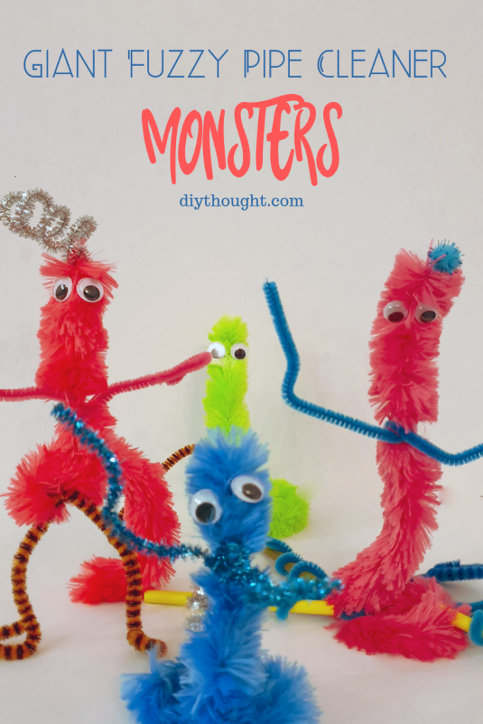 giant fuzzy monster craft