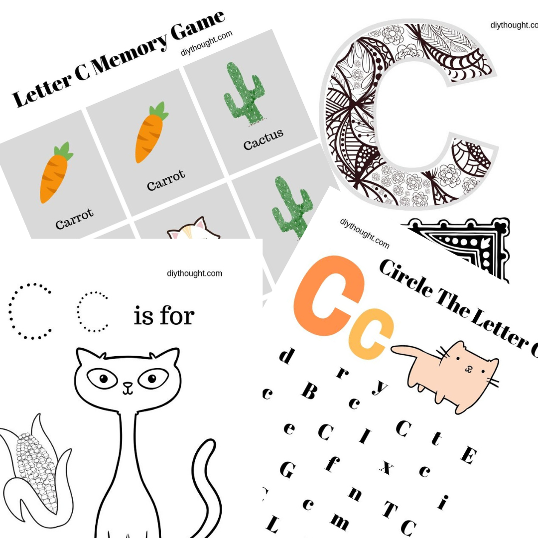 photograph relating to Letter C Printable named 5 Letter C Printable Worksheets - do-it-yourself Consideration