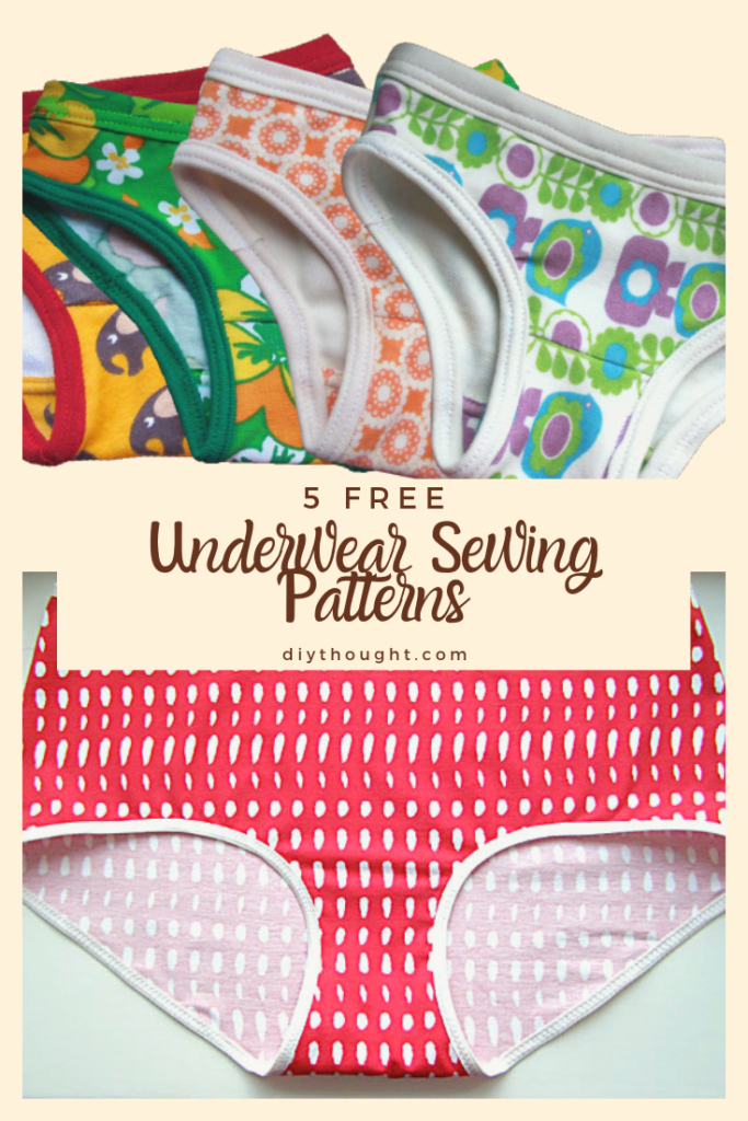6 Free Underwear Sewing Patterns - diy Thought