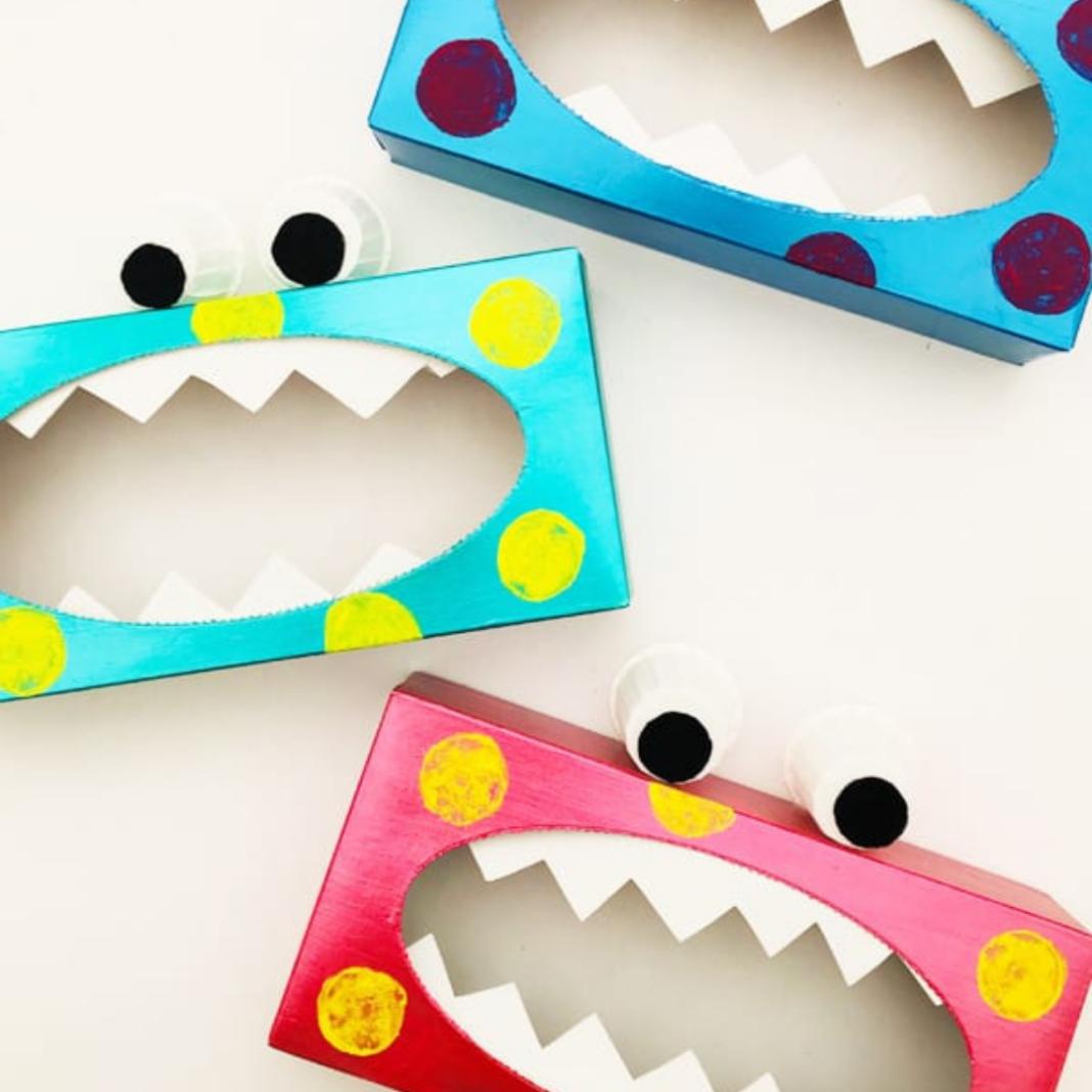 tissue box craft