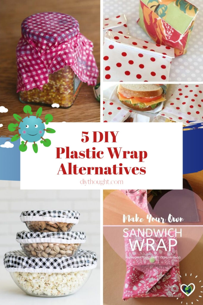 plastic cling wrap alternatives diy