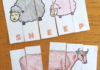 farm animal letter puzzle worksheet
