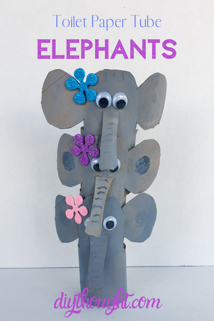 toilet paper tube elephants
