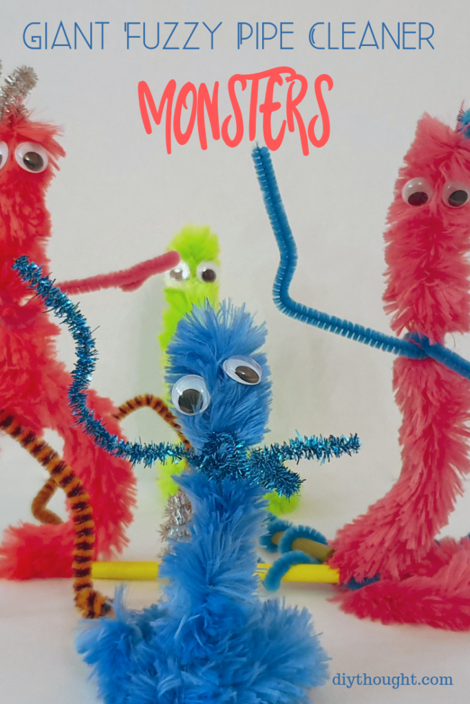 pipe cleaner monster craft