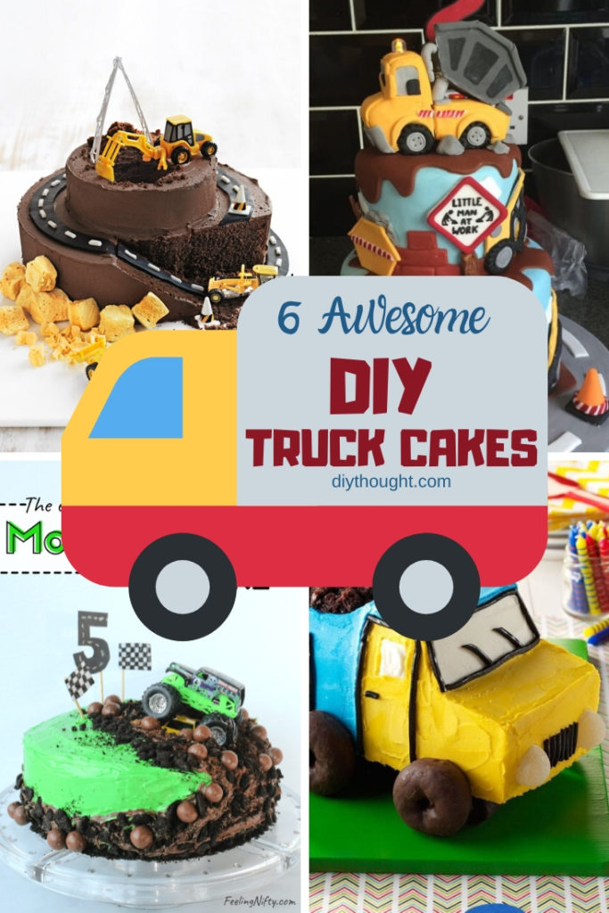 6 Awesome DIY truck cakes