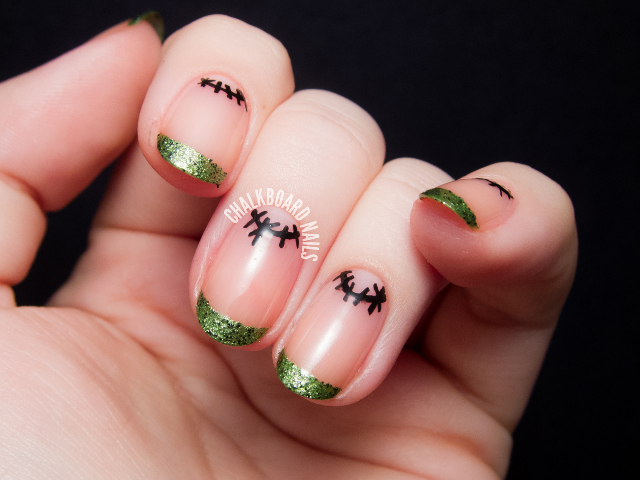8 Easy Halloween Nail Art Tutorials - diy Thought