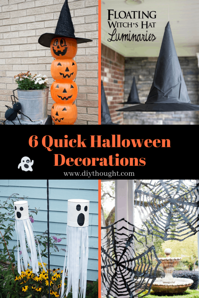 quick halloween decorations