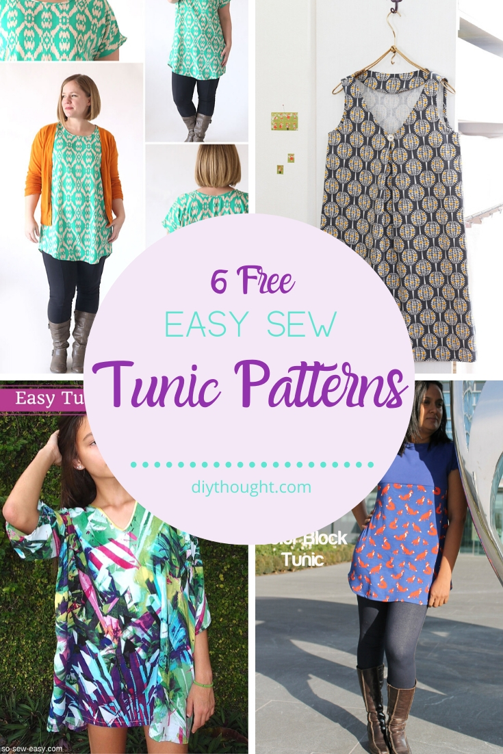 easy sew tunic patterns