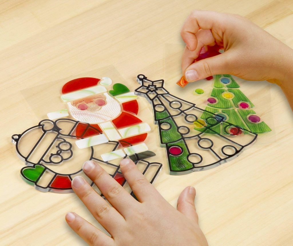 craft kit for Christmas  glass window art