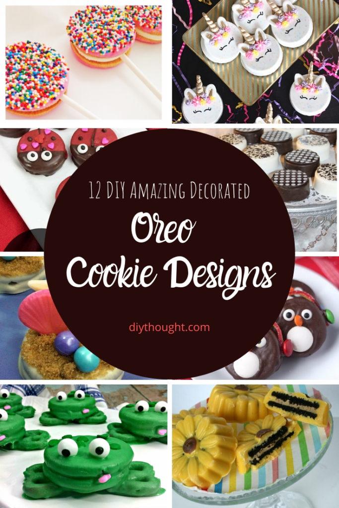 12 oreo cookie designs
