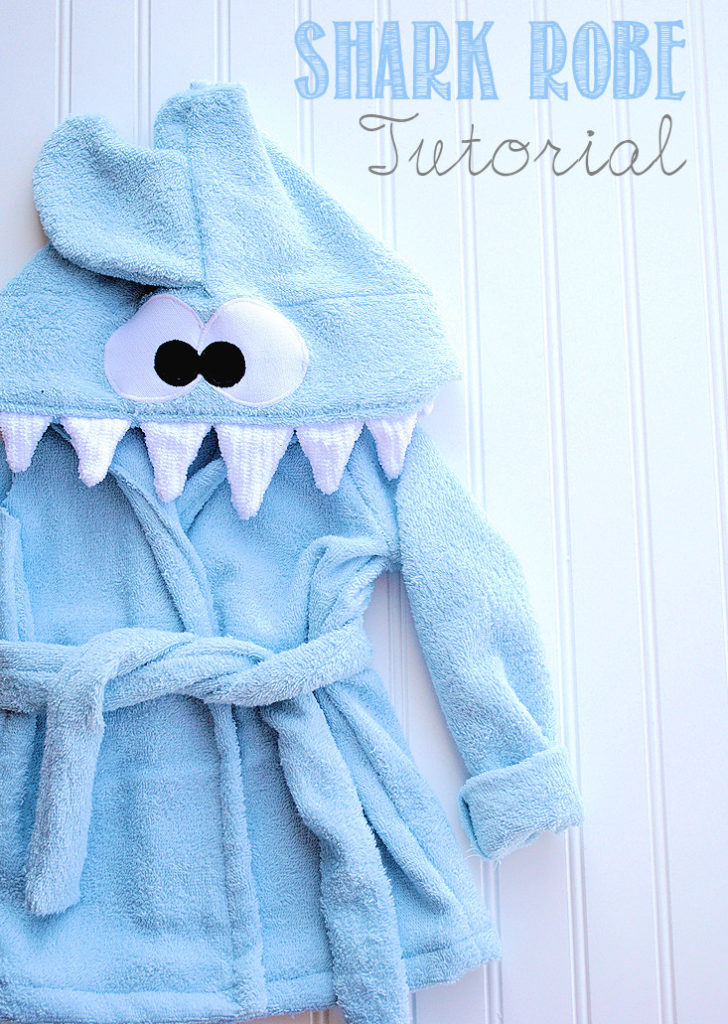 shark robe tutorial