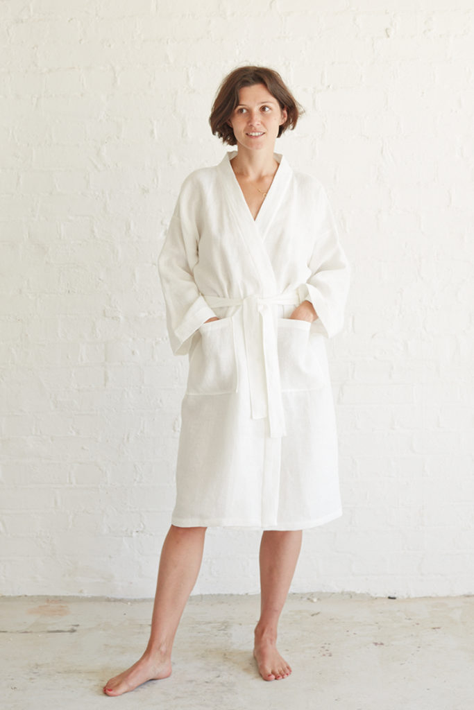 linen bathrobe patterns