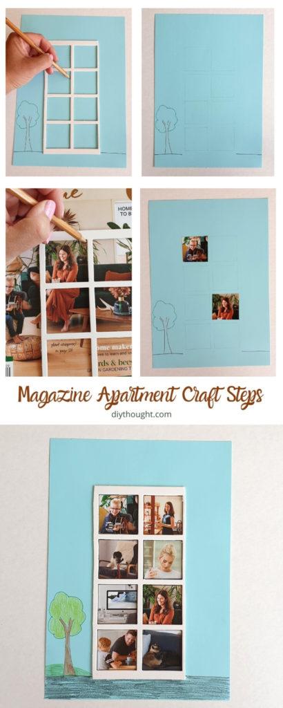 magazine craft. Apartment building.
